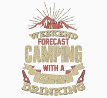 Weather forecast (camping) Kids Tee