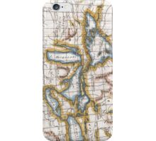 Vintage Map of The Great Lakes & Canada (1780) iPhone Case/Skin