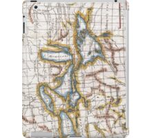 Vintage Map of The Great Lakes & Canada (1780) iPad Case/Skin