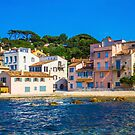 The Golden hour over Saint Tropez, The French Riviera by Bruno Beach