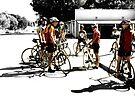""""""" Study of Bicyclists """" by waddleudo"""