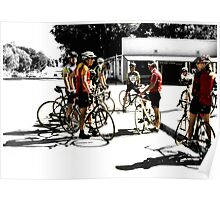 """ Study of Bicyclists "" Poster"