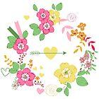 Floral wreath by yaskii
