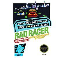 Rad Racer 8-Bit Cover  Photographic Print