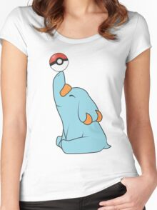 Phanpy Women's Fitted Scoop T-Shirt