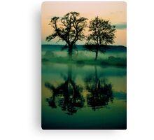 Twilight Lake Canvas Print