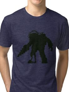 Big Daddy And Little Sister Tri-blend T-Shirt