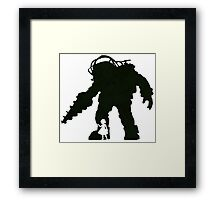 Big Daddy And Little Sister Framed Print