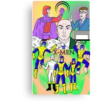 X-Men 1960s Canvas Print