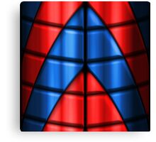 Superheroes - Red and Blue Canvas Print