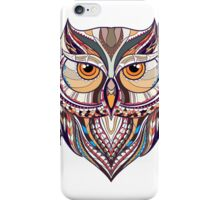 ethnic owl iPhone Case/Skin