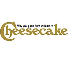 Drake Cheesecake Factory Photographic Print