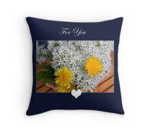 For You Pillow/Bag Throw Pillow