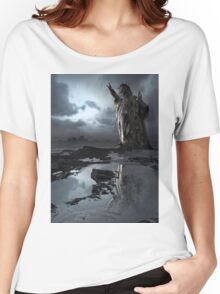 Global Warning - Statue of Liberty Women's Relaxed Fit T-Shirt