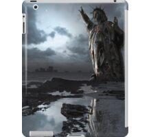 Global Warning - Statue of Liberty iPad Case/Skin
