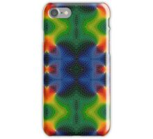 Blue Orange Red Yellow Green Fish Scales iPhone Case/Skin