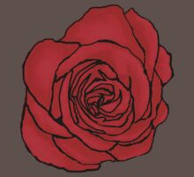 Open Red Rose Kids Clothes