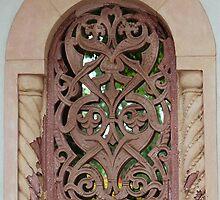 Ornamental Window at the Vanderbilt Mansion by Gilda Axelrod