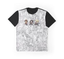 Attack On Titan - Eren, Mikasa & Armin Graphic T-Shirt
