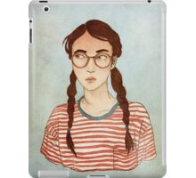 Stripes and Glasses iPad Case/Skin