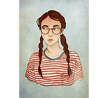 Stripes and Glasses Photographic Print