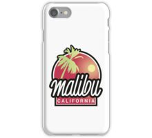 Malibu, California iPhone Case/Skin