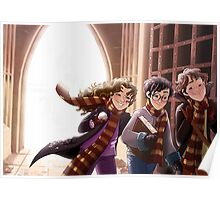 The Great Hall of Hogwarts Poster