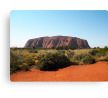 Uluru, Northern Territory Canvas Print