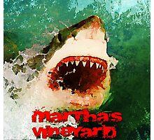 Martha's Vineyard Shark Attack Photographic Print