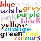 Geek colours by Morag Anderson