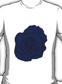 Open Blue Rose T-Shirt
