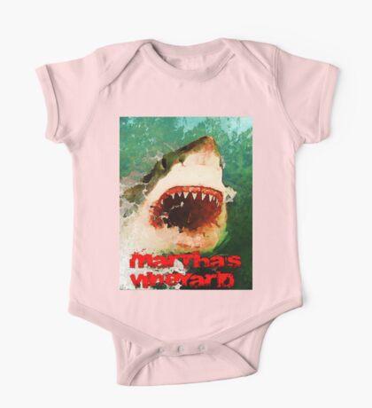 Martha's Vineyard Shark Attack One Piece - Short Sleeve