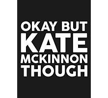 Kate McKinnon tho. (dark background) Photographic Print