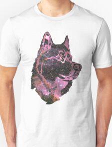 Space Husky Unisex T-Shirt