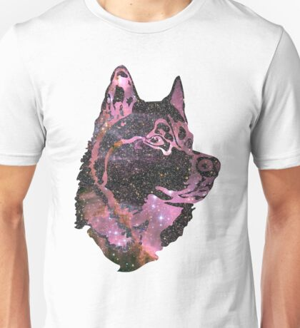 Space Husky Unisex T-Shirt