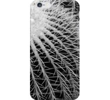 Cactus Spines in Black and White iPhone Case/Skin