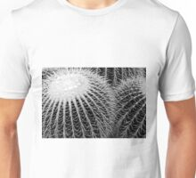 Cactus Spines in Black and White Unisex T-Shirt