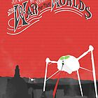 The War of the Worlds Poster by gryffindor
