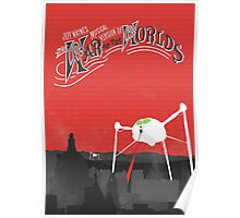 The War of the Worlds Poster Poster