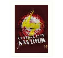 Central City Saviour! Art Print