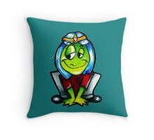 the frog Prince 00 Throw Pillow
