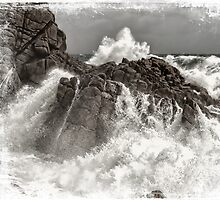 Splash over granite by Adriano Carrideo