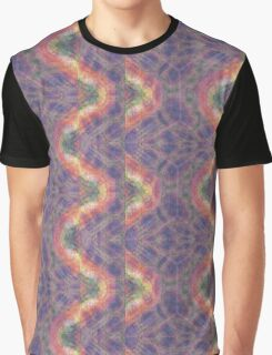 Wavy Trippy Psychedelic Abstract Design Graphic T-Shirt