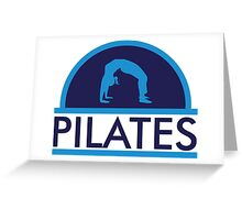 Pilates Greeting Card