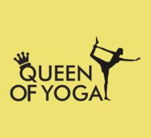 Queen of yoga Kids Clothes
