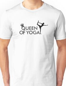 Queen of yoga Unisex T-Shirt