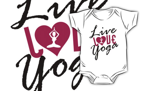 Live, Love, Yoga by nektarinchen