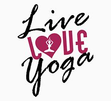 Live, Love, Yoga Tank Top