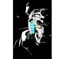 Voltron Shadowed Face Photographic Print