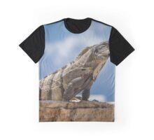 Iguana Sky Graphic T-Shirt